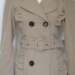 Arden B Jackets & Coats - Arden B Tan Brown Belted Trench Coat size XS